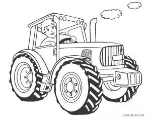 Free Printable Tractor Coloring Pages For Kids Cool2bkids In 2020 Tractor Coloring Pages Monster Truck Coloring Pages Coloring Pages