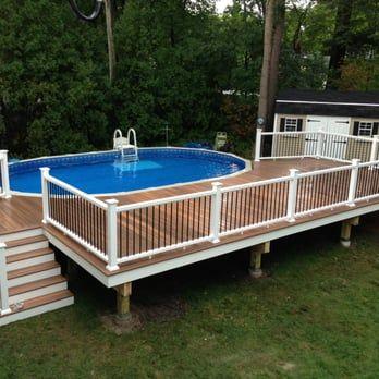 Swimming Pool Decks, Above Ground Pools Nh