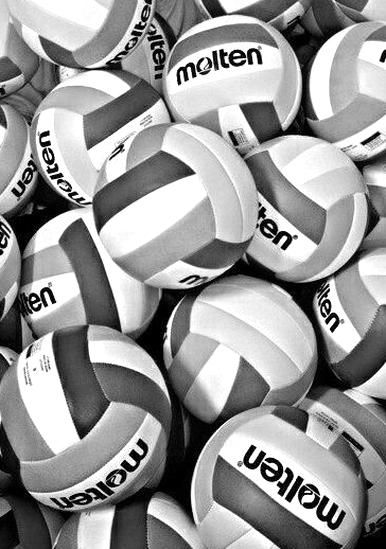 Love The Black And White In 2020 Volleyball Wallpaper Volleyball Pictures Volleyball
