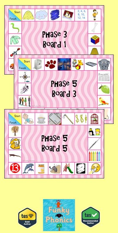Phonics Games Phase 5