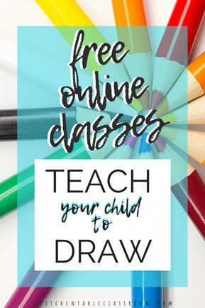 Learn to Draw Online- Free Online Drawing Websites | Teach ...