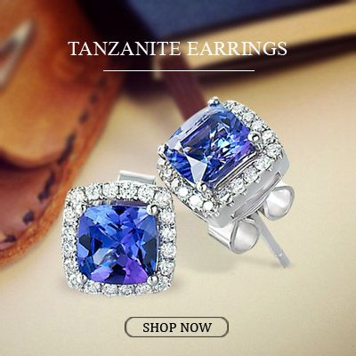 Be Gorgeous with this beautiful pair of Tanzanite earrings !