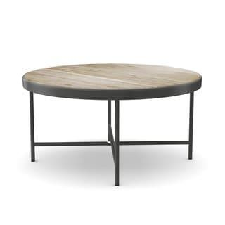 Carbon Loft Cartwright Weathered Grey Oak Coffee And End Table Coffee And End Tables Carbon Loft End Tables
