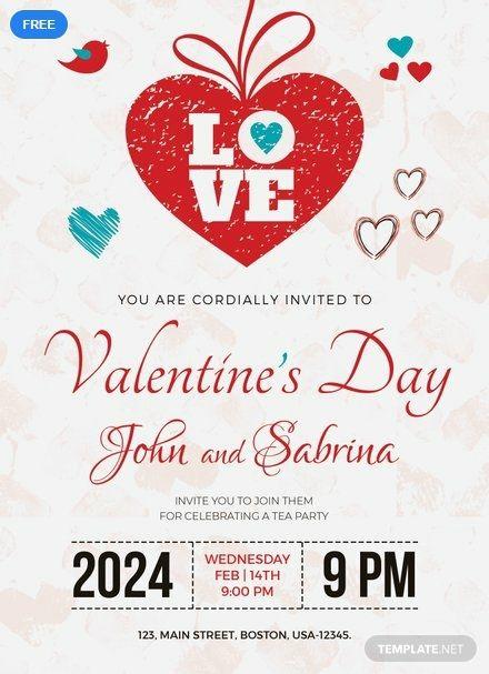 Free Valentine S Day Party Invitation Party Invite Template Valentine Party Invitations Valentine Invitations