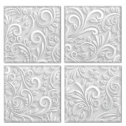 6 X 6 Glass Decorative Accent Tile In Gray Instant Mosaic Mosaic Wall Tiles Custom Glass