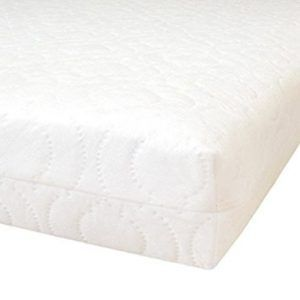 Baby Toddler Cot Bed Breathable QUILTED AND BAMBOO Cover Foam Mattress All Sizes