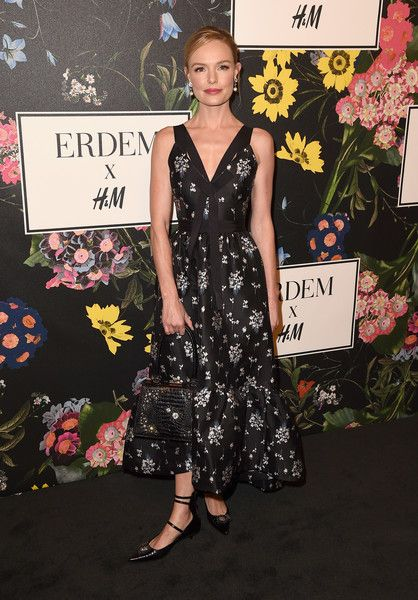 Kate Bosworth attends the H&M x ERDEM Runway Show & Party at The Ebell Club of Los Angeles.