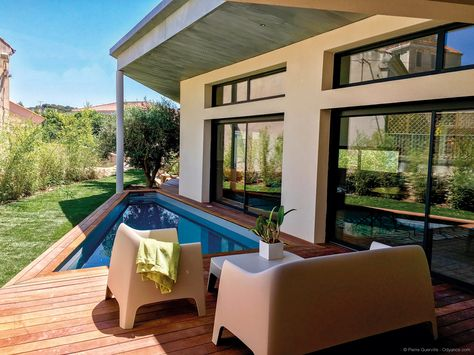 Jeu d'inspiration et de lumière imaginé par Jacques Patingre, architecte DPLG  | Villas Concept