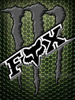 Download free Fox Racing logos wallpaper to your mobile phone