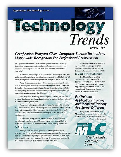 Newsletter Design Technology Trends  Personal Design Projects