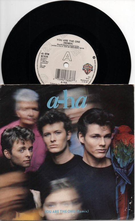 A Ha You Are The One 1988 Uk Issue 7 45 Rpm Vinyl Single Record