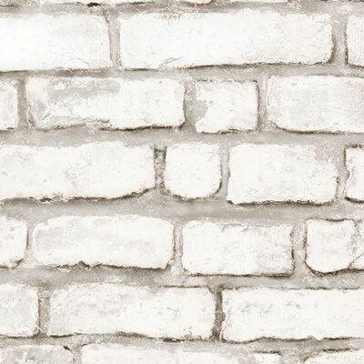 Brick Wallpaper Self Adhesive Vintage Brick Peel And Stick Wallpaper Removable For Interior Design White Brick Removable Wallpaper Removable Brick Wallpaper Brick Wallpaper Brick Wallpaper Peel And Stick