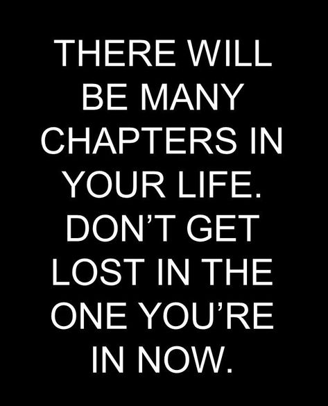 There are many chapters.