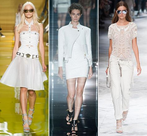 spring/summer 2014 fashion trends | Spring/ Summer 2014 Fashion Trend #1: All-White vs. All-Black Looks