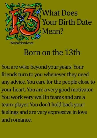 horoscope by date of birthday 13 january