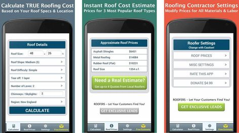 Roofing Calculator - Android Apps on Google Play Roofing Apps - roofing estimate