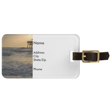 Create Your Own Luggage Tag Zazzle Com Luggage Tags Custom Luggage Tags Bag Tags