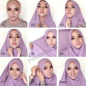 25 Tutorial Hijab Pashmina Simple Anggun Untuk Formal Serta