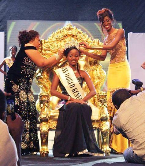 Idah Nguma Crowned Miss World Kenya 2014