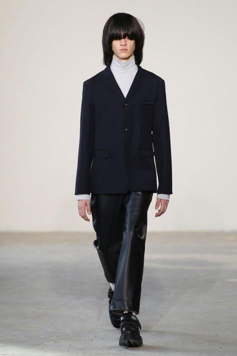 Patrik Ervell Fall 17. Photo by Gerardo Somoza.  menswear mnswr mens style mens fashion fashion style patrikervell runway