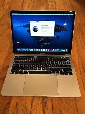 2017 Macbook Pro 13 4tb3 Touch Bar 3 1ghz I5 8gb 256gb Macbook Pro 13 Macbook Pro Macbook