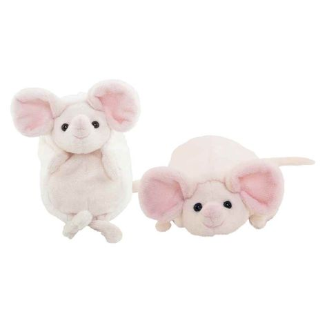 Hansa Crouching Brown Rat 2794 Plush Soft Toy Sold by Lincrafts Established 1993
