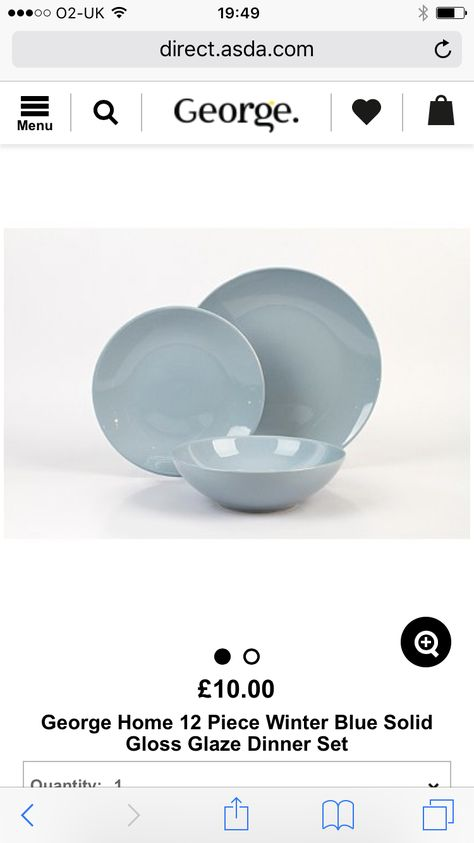 I Need Two Sets Please They Are From Asda Dinner Sets Tableware Asda