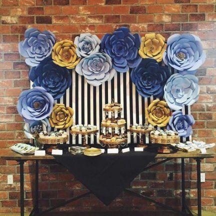 Wedding Backdrop Blue Diy Ideas 68 Ideas Baby Shower Backdrop
