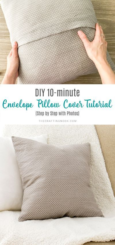 10 minute pillowcase. Directions on
