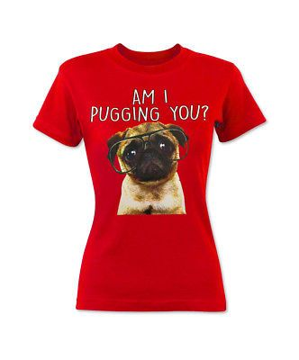 Am I Pugging You Youth Girls T-shirt Funny Cute Pug life gift idea animal Lover