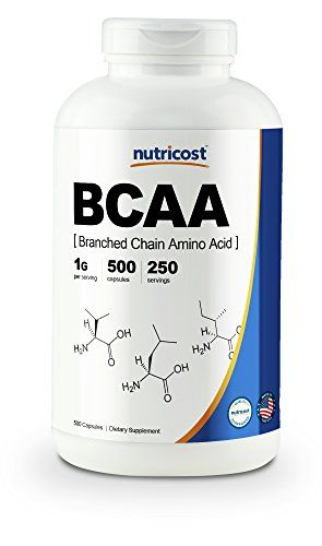 Nutricost Bcaa Capsules 2 1 1 500mg 500 Caps Best