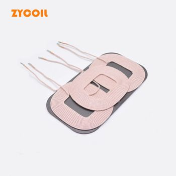 3 Coil Transmitter Wholesale Qi A6 Wireless Charger Coil For