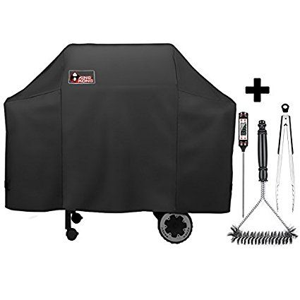 Kingkong 7573 7106 Grill Cover For Weber Spirit 200 300 Series And Genesis Silver Gas Grill With Grill Brush Tongs And Th Grill Cover Grill Brush Gas Grill