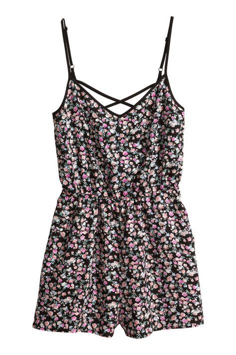 When it comes to effortless summer dressing, it doesn't get much easier than a romper. The romper can be just as flirty as a sundress, but with shorts on the bottom, you won't hesitate for a bike ride in the park post brunch