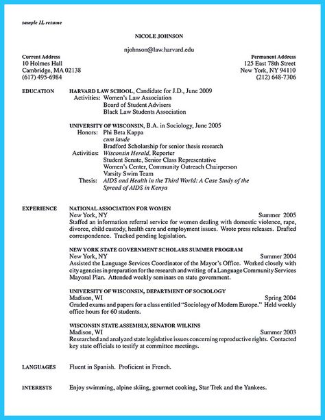 Cover Letter Builder Build a Cover Letter In Minutes with - business school resume template