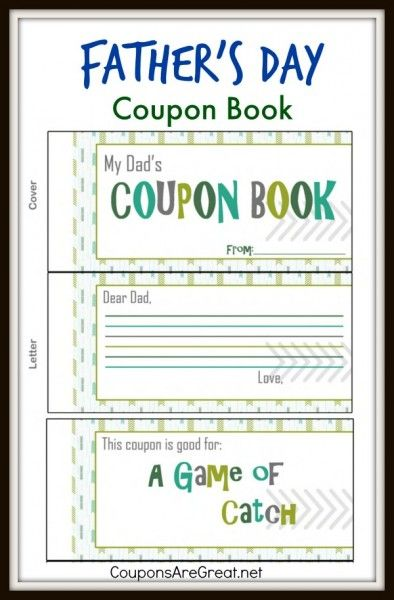 Dads Everywhere Will Love These Printable FatherS Day Coupons