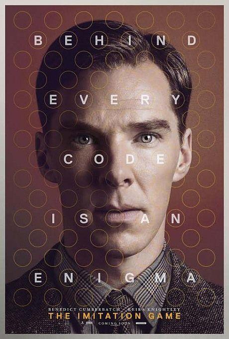 5 nominations pour The Imitation Game aux Golden Globes 2015 : Meilleur film dramatique, Meilleur acteur dans un drame (Benedict Cumberbatch), Meilleure actrice dans un second rôle (Keira Knightley), Meilleur scénario, Meilleure bande originale (Alexandre Desplat)