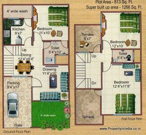 Duplex House Floor Plans Philippines Home Building Designs Home Design Floor Plans Family House Plans House Floor Design