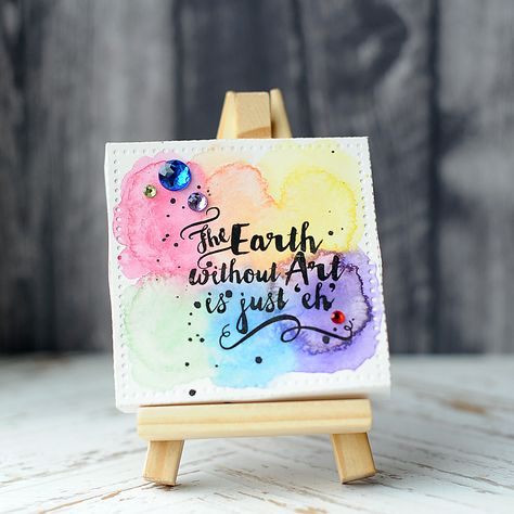 33 Mini Canvas Ideas Art