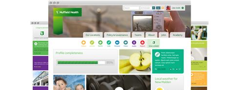 Sharepoint intranet with yammer and office365 intranet sharepoint intranet with yammer and office365 intranet pinterest case study pronofoot35fo Choice Image