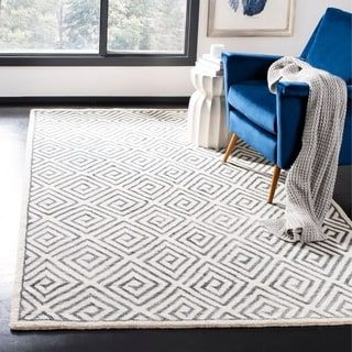 Overstock Com Online Shopping Bedding Furniture Electronics Jewelry Clothing More Grey Geometric Rug Geometric Area Rug Modern Wool Rugs