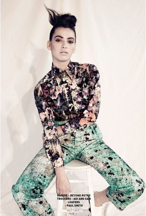 eclectic style & fashion ideas #eclectic clothing #eclectic fashion #eclectic women's fashion #eclectic women's wear #eclectic #mix print fashion