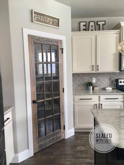 Builders Choice 32 In X 80 In 32 In Clear Pine 15 Lite French Interior Door Slab Hdcp151528 Home Decor Kitchen Kitchen Renovation Home Remodeling