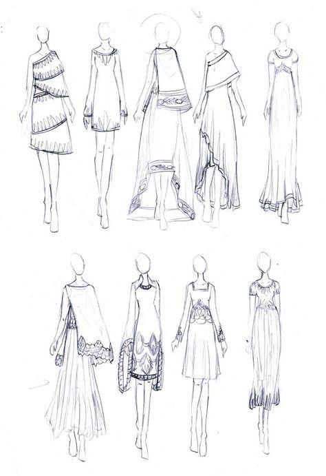 Sari Inspired Dresses