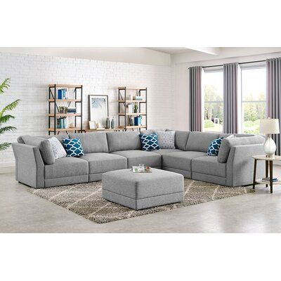 Sectional Winston Porter In 2020 Sectional Contemporary