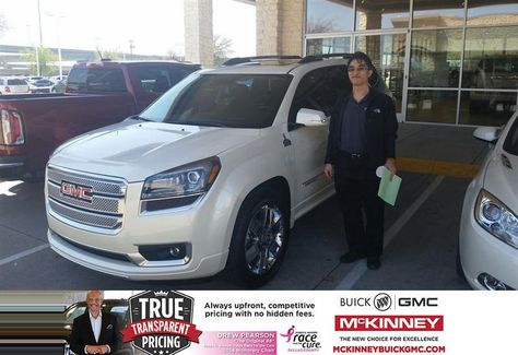Congratulations To Edward Lee On Your Gmc Acadia Purchase From