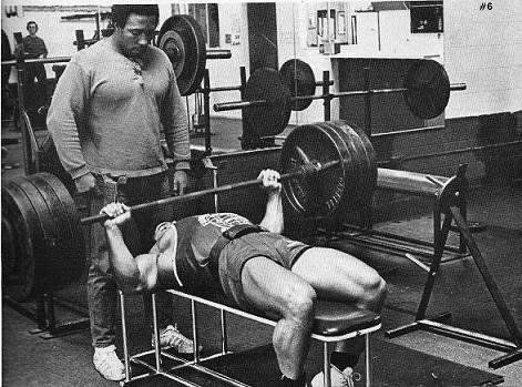 Bench Pressing The Old School Way Well Built Style Bench Press Bodybuilding Workouts Super Human Strength