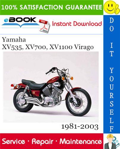 Yamaha Xv535 Xv700 Xv1100 Virago Motorcycle Service Repair Manual 1981 2003 Download Repair Manuals Yamaha Repair