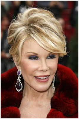 9 Locally Joan Rivers Hairstyles Fashion Joan Rivers Hairstyle Hair Styles