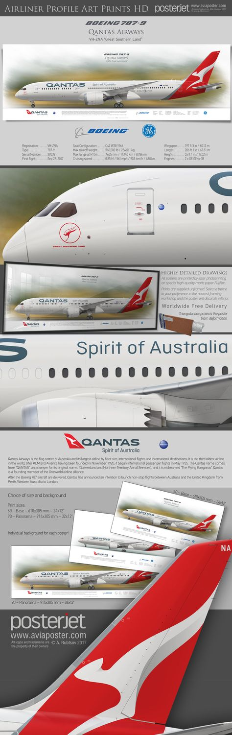 boeinglovers Boeing 787-9 Qantas Airways...